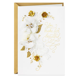Signature - You Make Life Beautiful Anniversary Card
