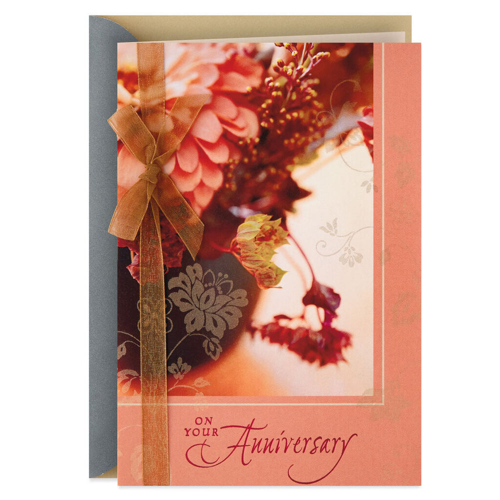 Sharing Beautiful Tomorrows Together Anniversary Card