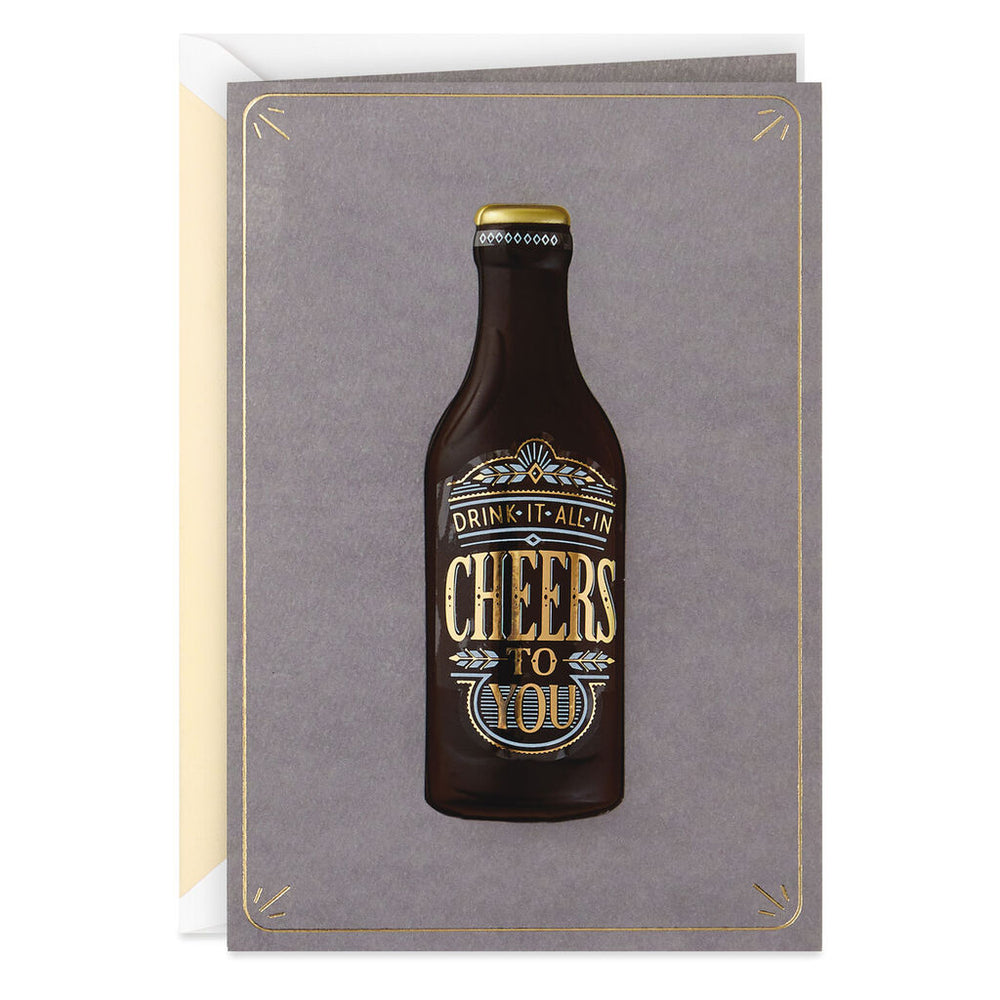 Signature - Craft Beer Birthday Card
