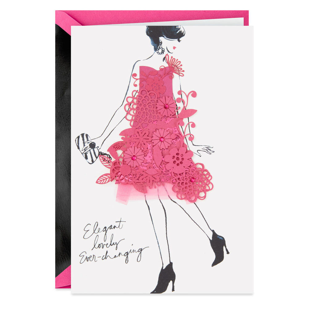 Signature - Elegant Lovely Ever-Changing Birthday Card