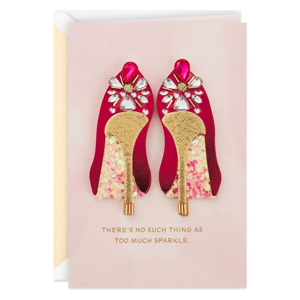 Signature - Fabulous Shoes Birthday Card