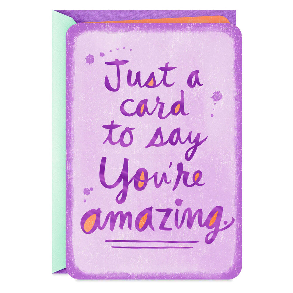 You're Amazing Thinking of You Card