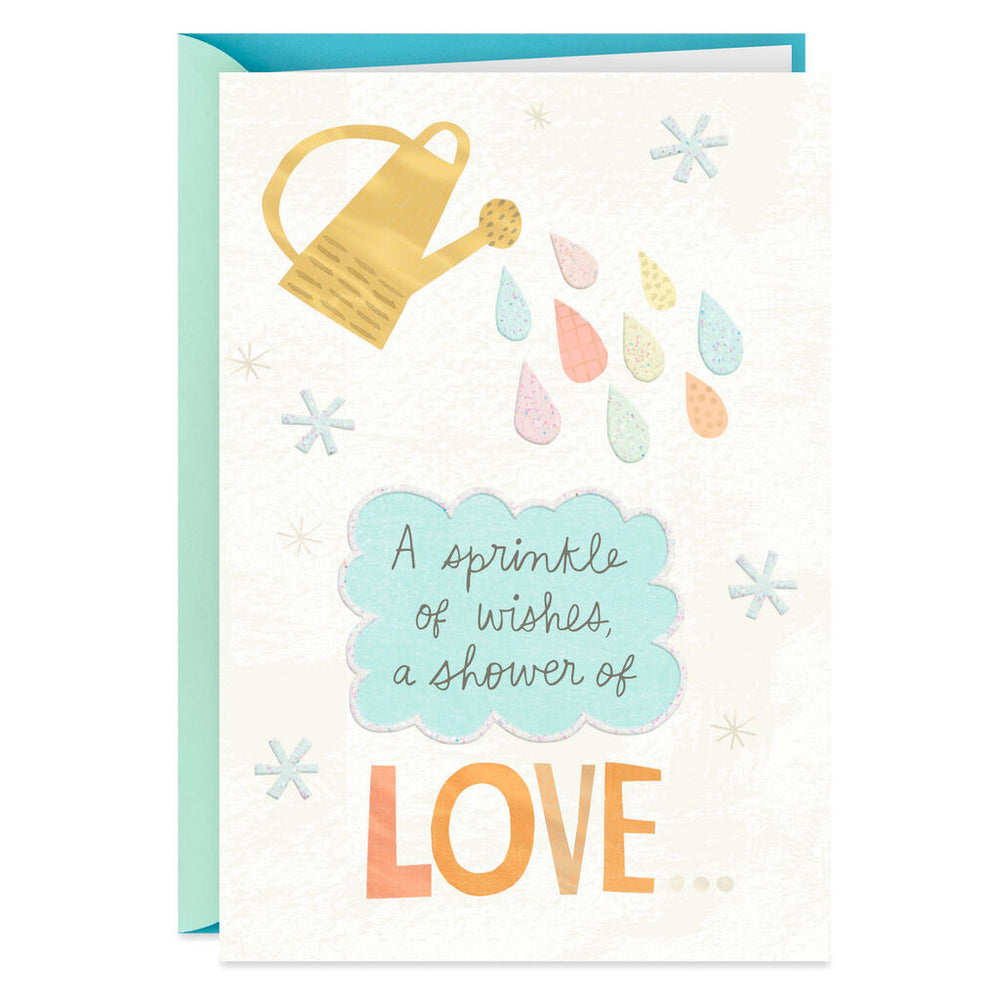 Sprinkle of Wishes Baby Shower Card