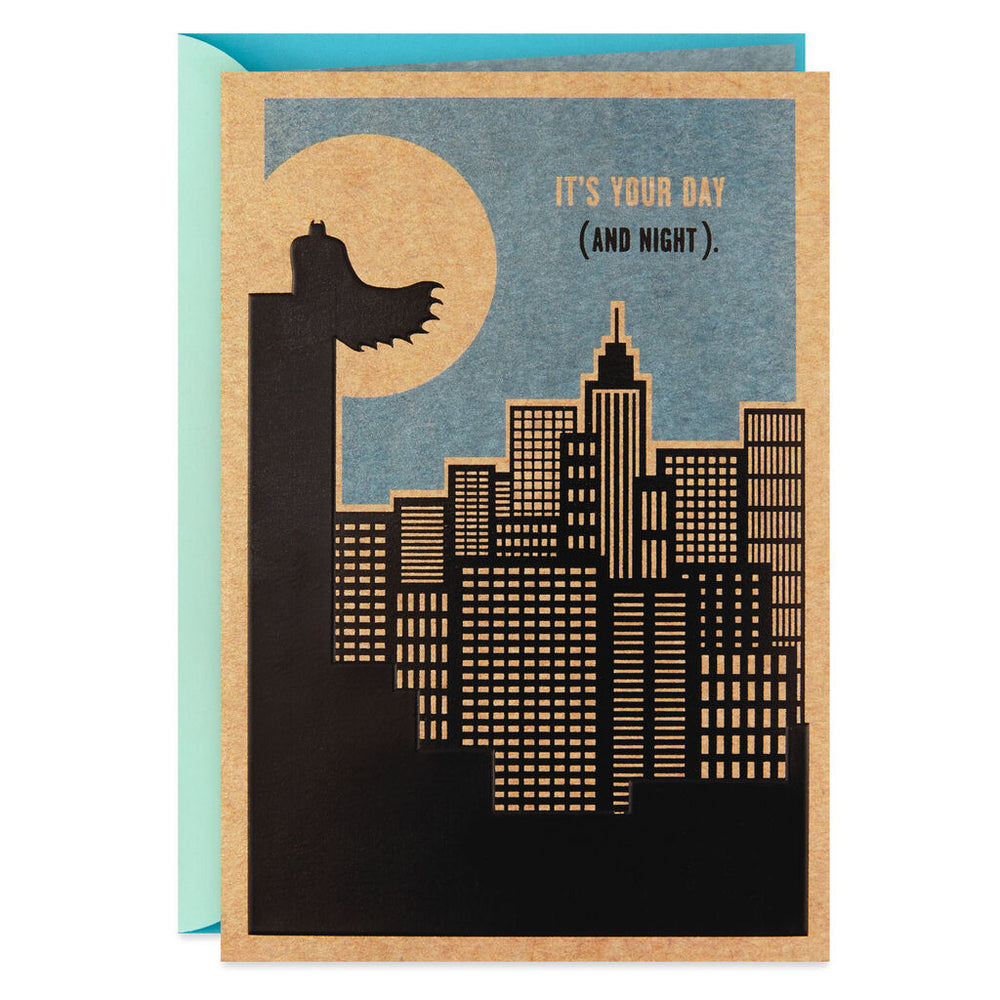 Load image into Gallery viewer, Do It Justice Batman Birthday Card