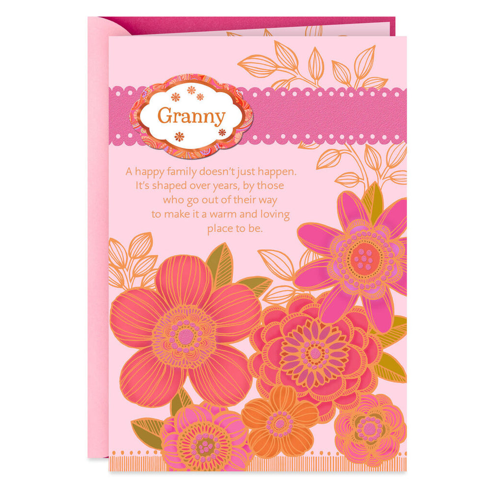 Grandma - Special Names for Grandma with Personalization Stickers Birthday Card