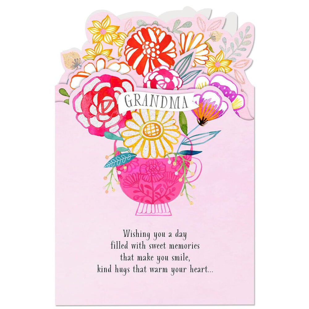 Grandma - Wishing You Sweet Memories Birthday Card