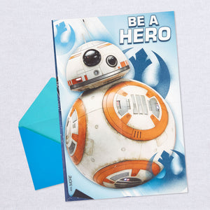 Star Wars Save the Galaxy Birthday Card With Poster