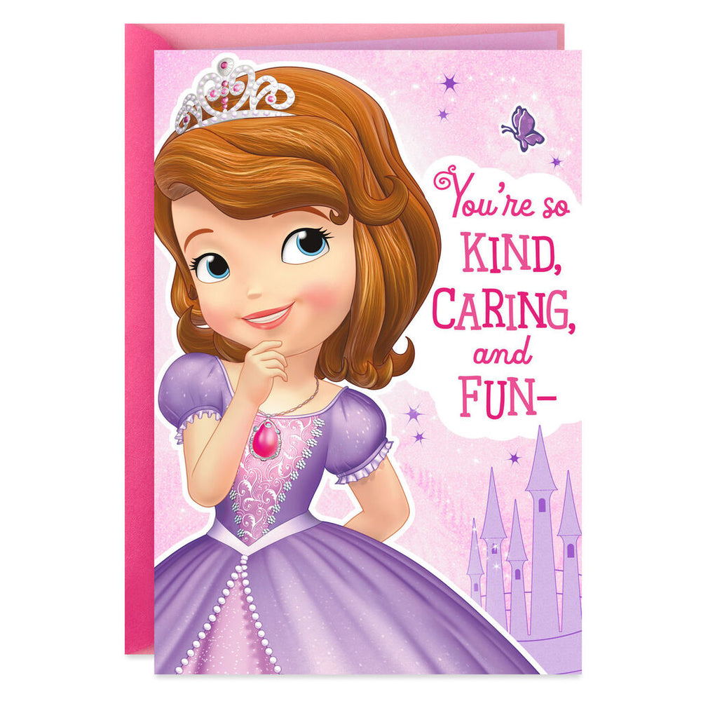 Sofia the First Royally Perfect Birthday Card