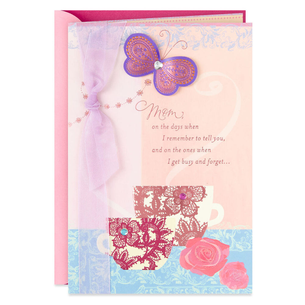 Mom - Wonderful Mom and Grandma Birthday Card