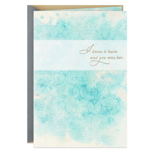 Tribute to Your Mom Sympathy Card