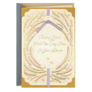 You Are Deeply Cared For Religious Sympathy Card