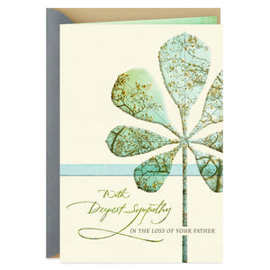 Remembering Your Father's Gifts Sympathy Card