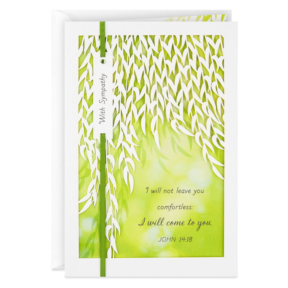 God Will Show You His Love Religious Sympathy Card