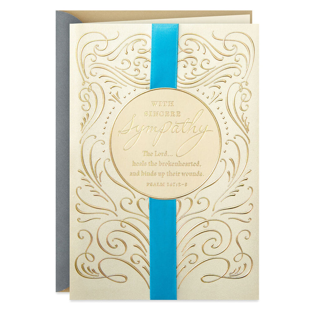 God's Grace For You Religious Sympathy Card