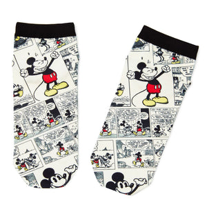 Disney Mickey Mouse Comic Strip Ankle Socks
