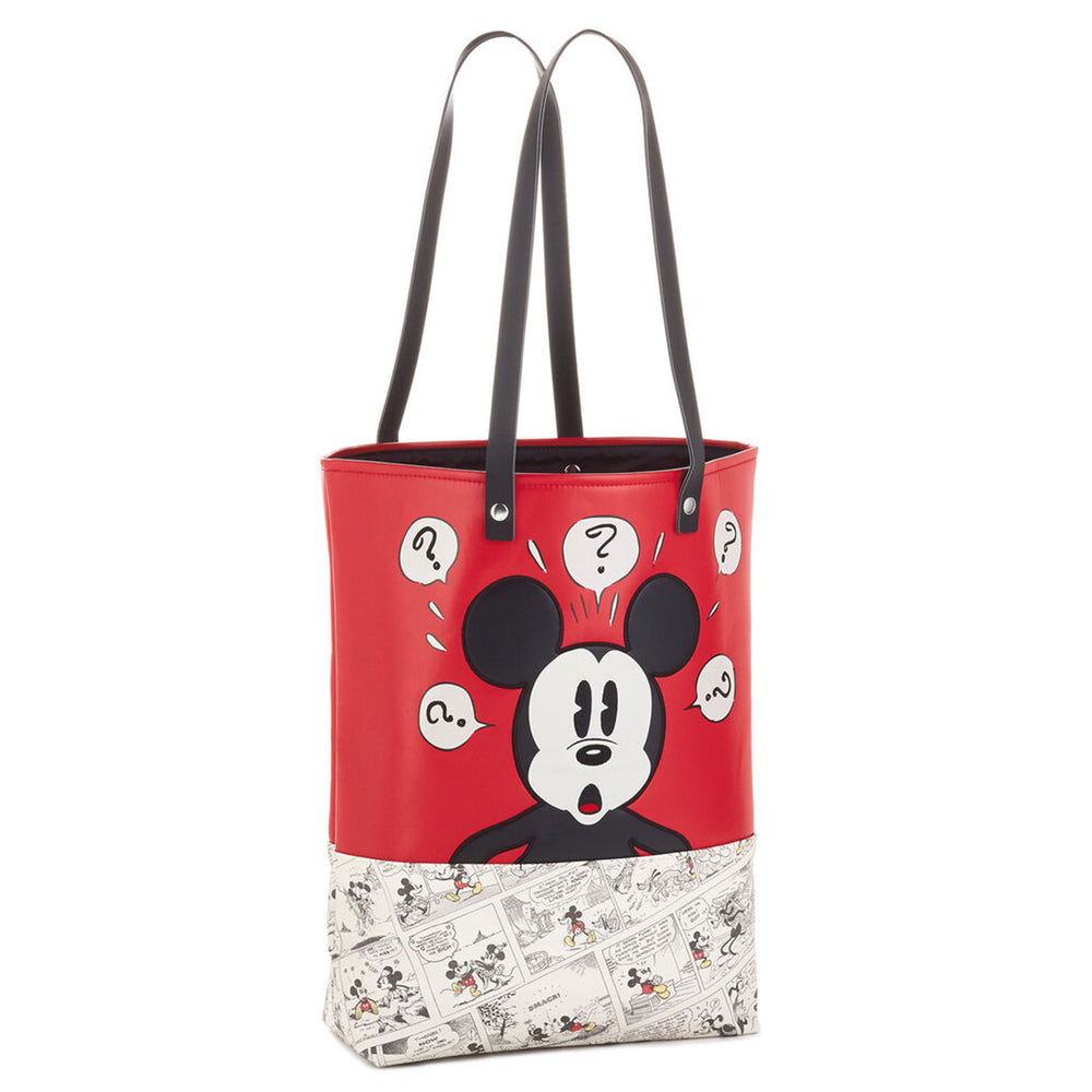 Disney Mickey Mouse Comic Strip Premium Tote Bag