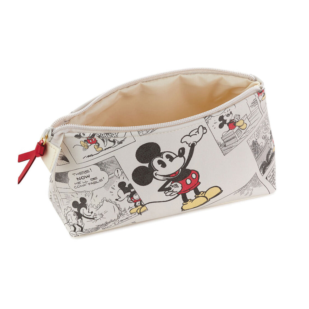 Disney Mickey Mouse Comic Strip Zipper Pouch