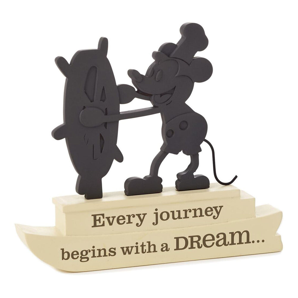 Steamboat Willie Silhouette Figurine