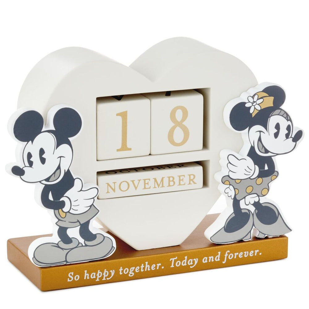 Disney Mickey and Minnie Happy Together Perpetual Calendar