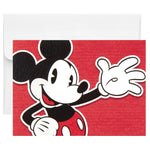 Disney Mickey Mouse Waving Hi Blank Note Cards, Pack of 10