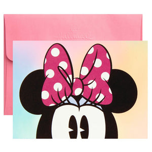Disney Minnie Mouse Peeking Blank Note Cards, Pack of 10