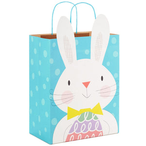 "13"" Easter Bunny With Egg Gift Bag"