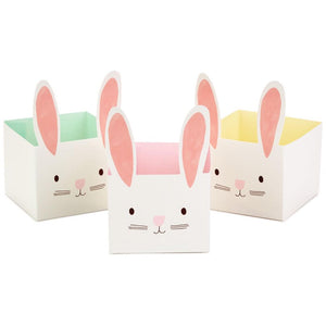 Bunny Open-Top Treat Boxes 3-Pack