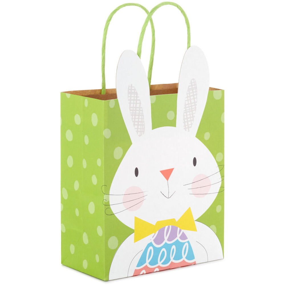 "6.5"" Easter Bunny With Egg Gift Bag"
