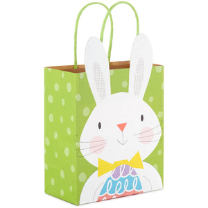 "Load image into Gallery viewer, 6.5"" Easter Bunny With Egg Gift Bag"