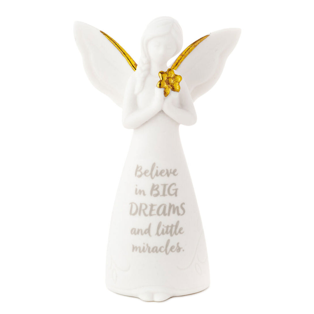 Dreams and Miracles Encouragement Mini Angel Figurine, 3.75""