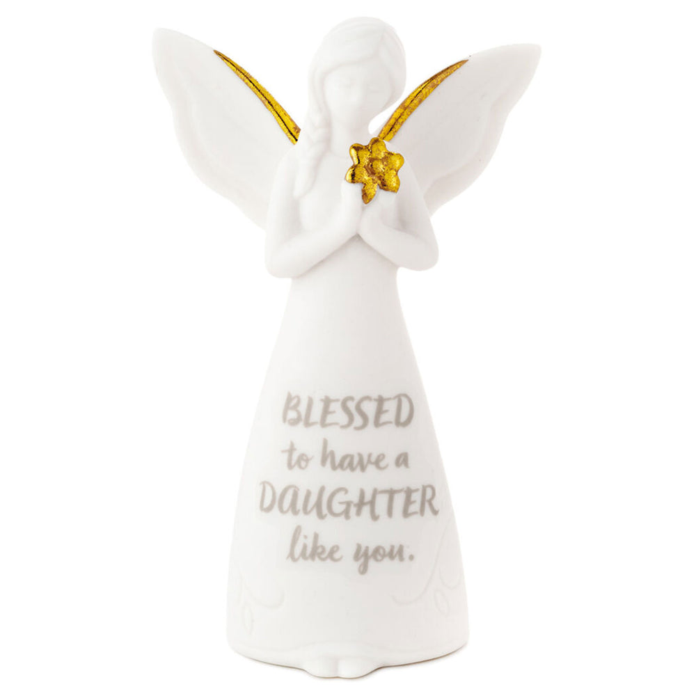 Blessing of a Daughter Mini Angel Figurine, 3.75""