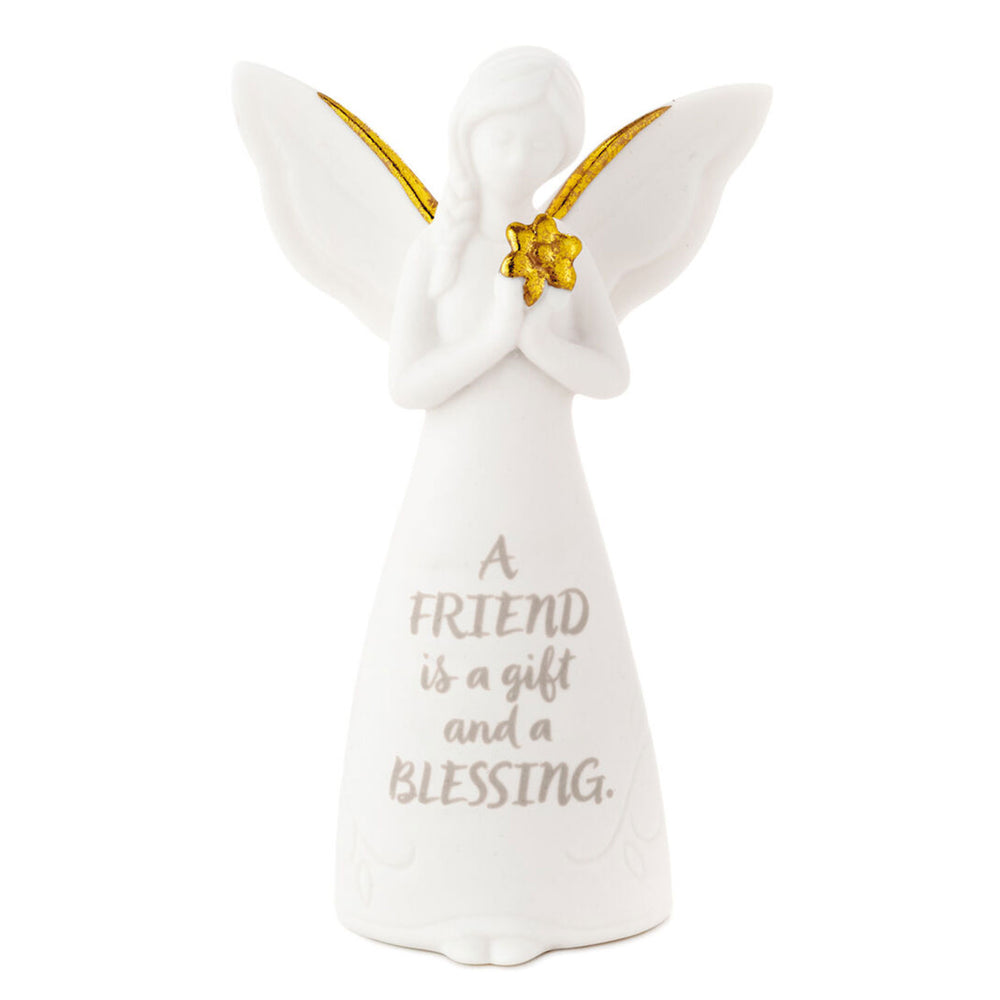 Gift and Blessing Friend Mini Angel Figurine, 3.75""