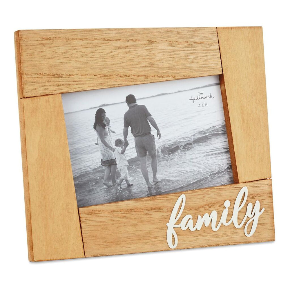 Family Wood Picture Frame, 4x6