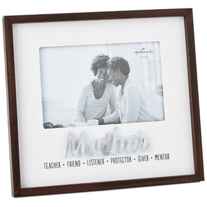 Qualities of a Mother Wood Picture Frame, 4x6