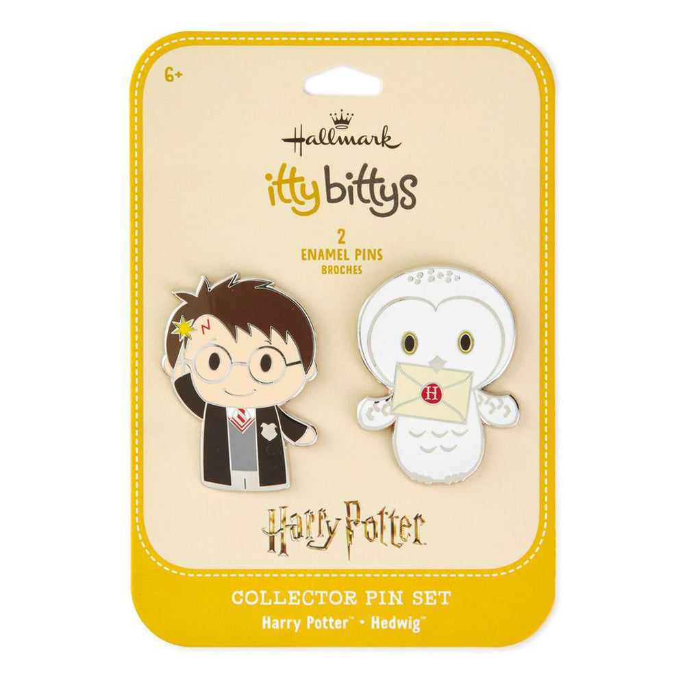 itty bittys Harry Potter Collectible Enamel Pins, Set of 2