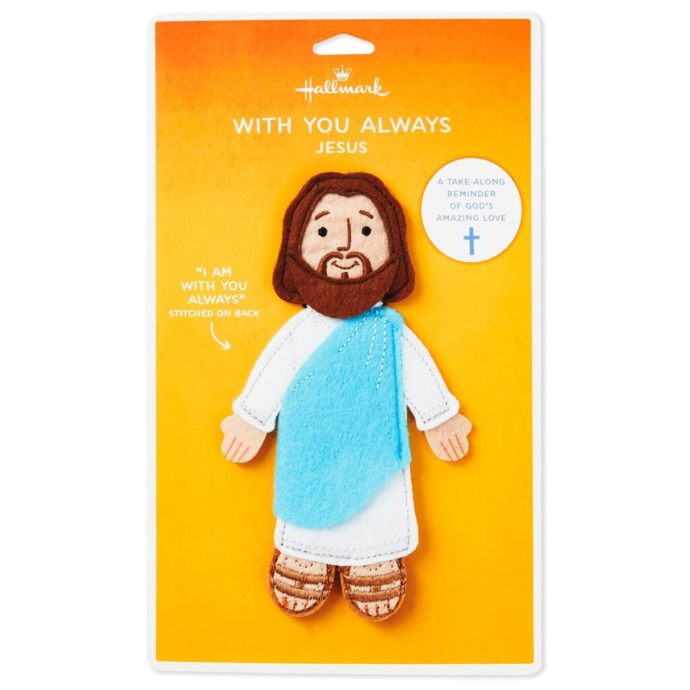 Load image into Gallery viewer, With You Always Felt Flat Jesus Take-Along Companion