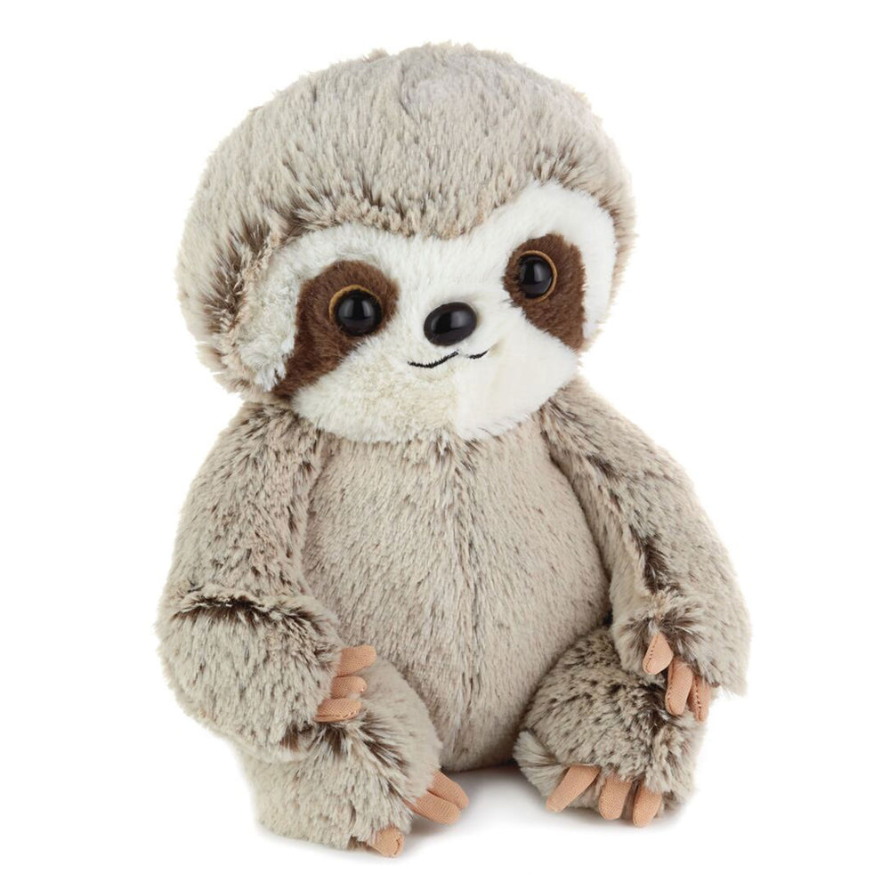 Load image into Gallery viewer, Light Brown Baby Sloth Stuffed Animal, 8""