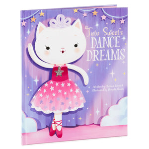 Tutu Sweet's Dance Dreams Book With Necklace