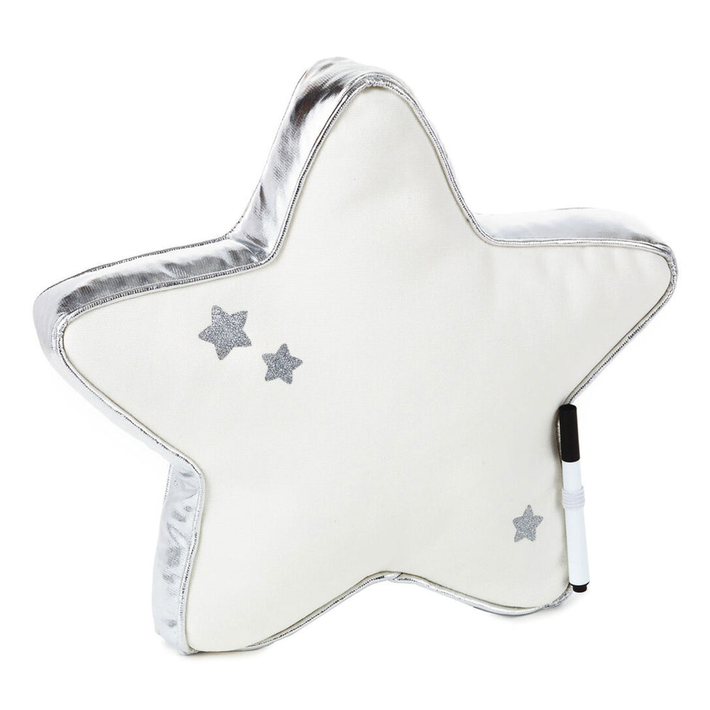 Star Autograph Pillow With Marker, 11x11
