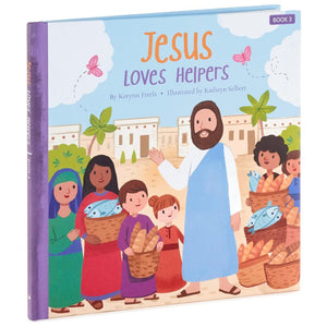 Load image into Gallery viewer, Jesus Loves Helpers Book