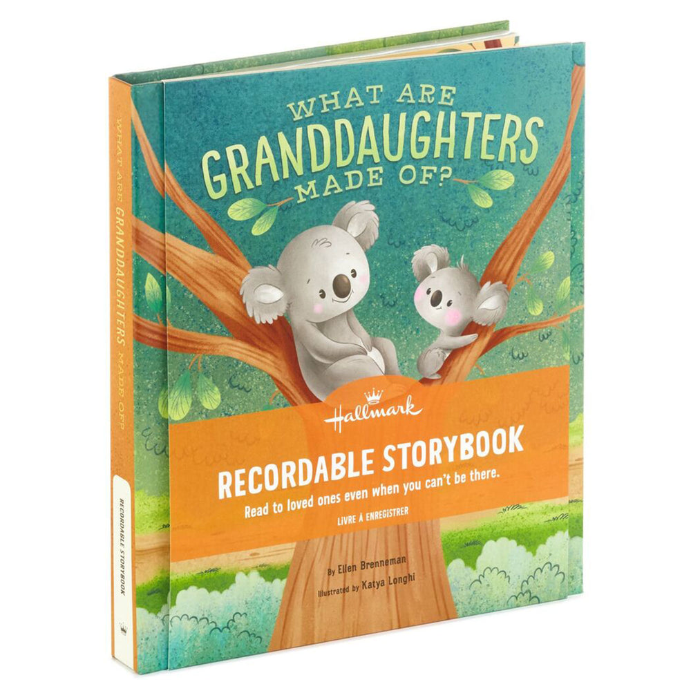 What Are Granddaughters Made Of? Recordable Storybook