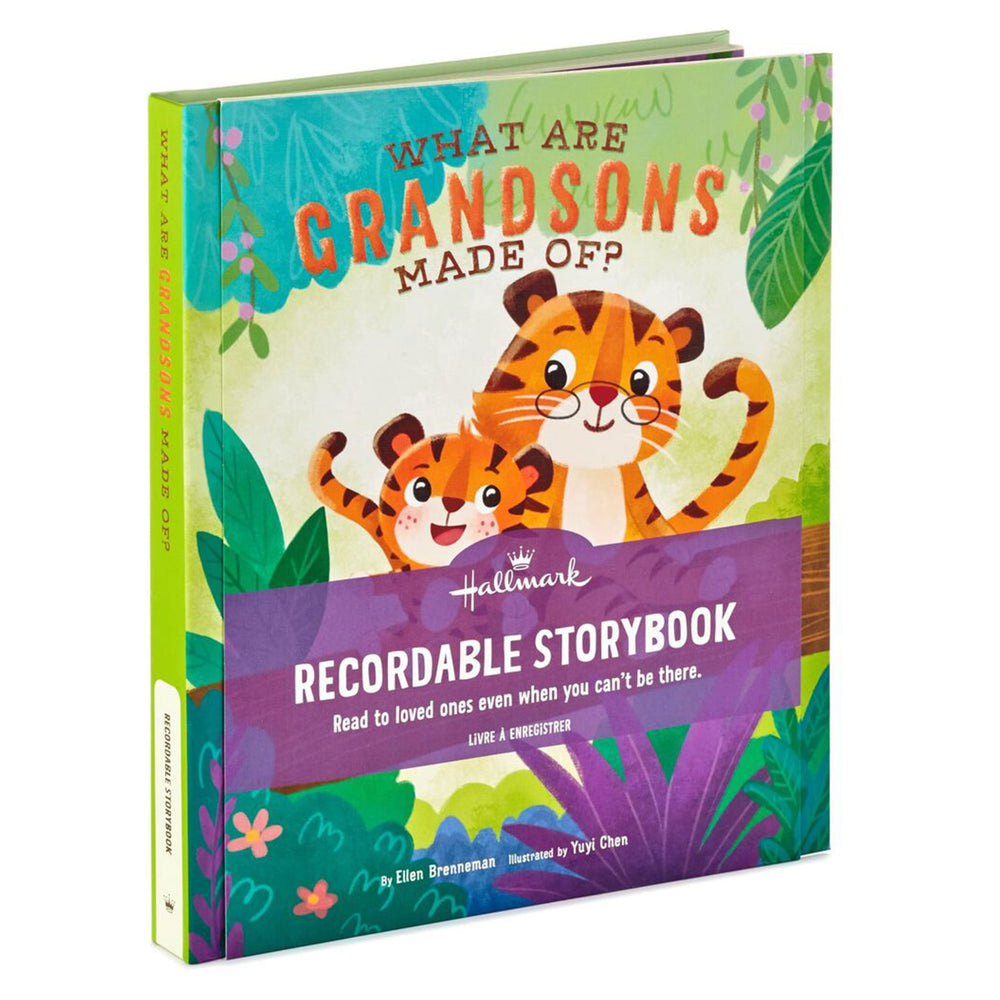 What Are Grandsons Made Of? Recordable Storybook
