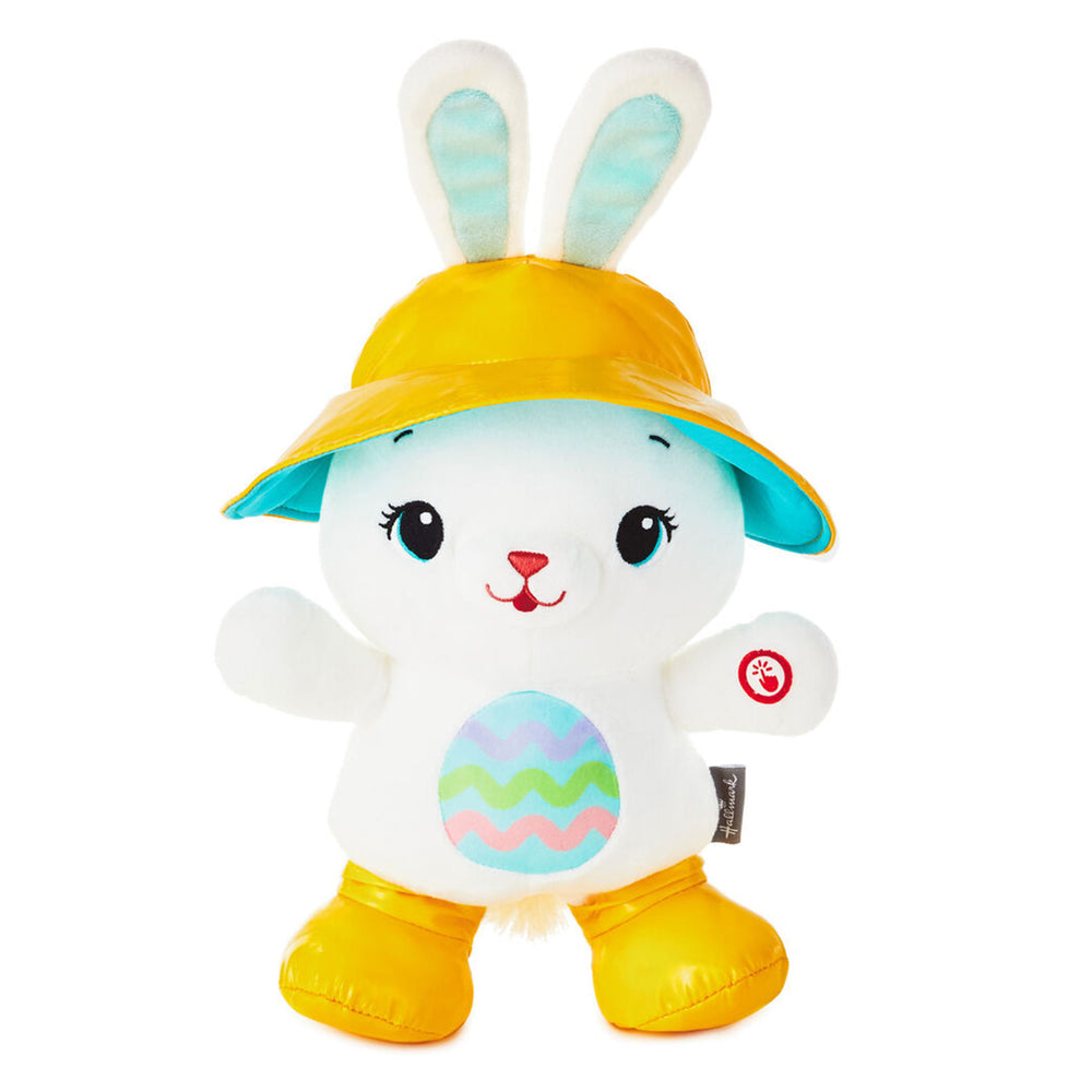 Hoppy Day Bunny Musical Stuffed Animal With Motion, 15""