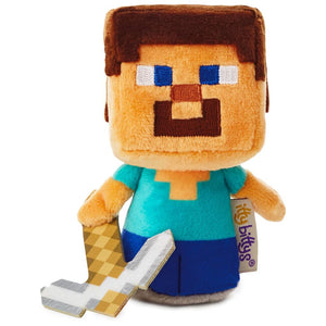 Load image into Gallery viewer, itty bittys Minecraft Steve Stuffed Animal