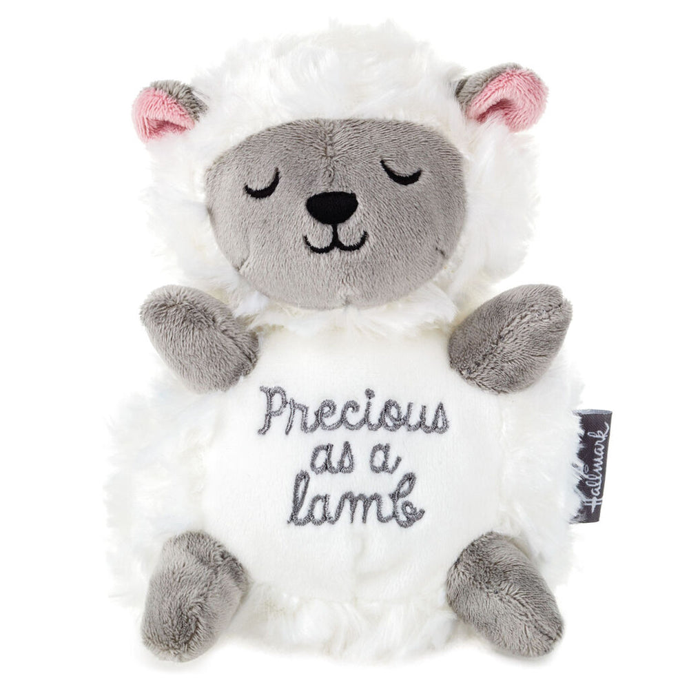 Precious Lamb Stuffed Animal, 7.25""