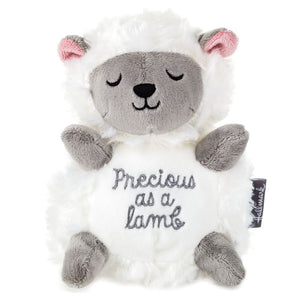 Load image into Gallery viewer, Precious Lamb Stuffed Animal, 7.25""