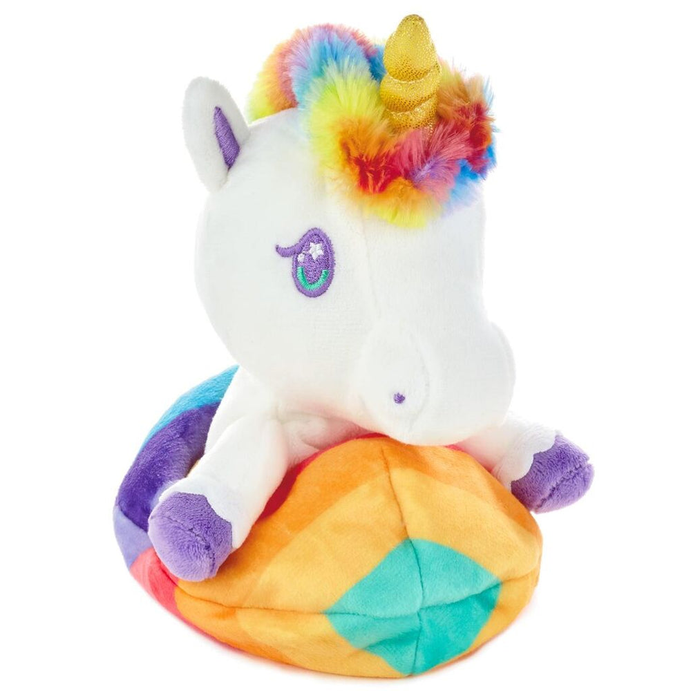 Unicorn Inside-Out Stuffed Animal, 5.5""