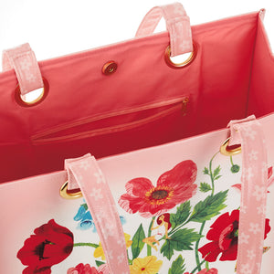 Load image into Gallery viewer, Oana Befort Floral Tote Bag