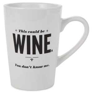 Load image into Gallery viewer, This Could Be Wine Ceramic Mug, 15 oz.