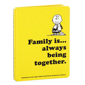Peanuts Family Is… Always Being Together Book